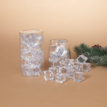 """Imitation Clear Ice Cubes, 1"""", Pack of 18, ST2498480"""