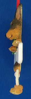 Personalized Mini Pinscher Ornament inset