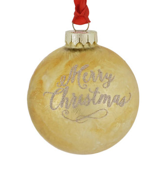 Family is a Gift Ball Ornament back