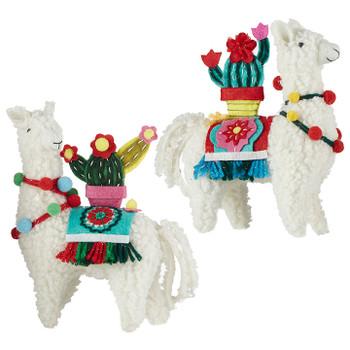 """Imitation Wool Peruvian Llama Ornament, 5 3/4 - 6"""", RA3919000"""