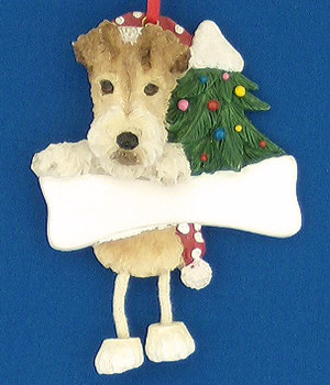 Personalized Wire Fox Terrier Ornament