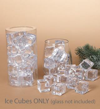 "Small Imitation Ice Cube Decor, 3/4"", 36 pc set, ST2498470"