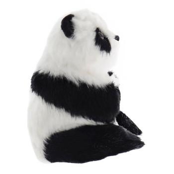 Furry Panda Ornament right side