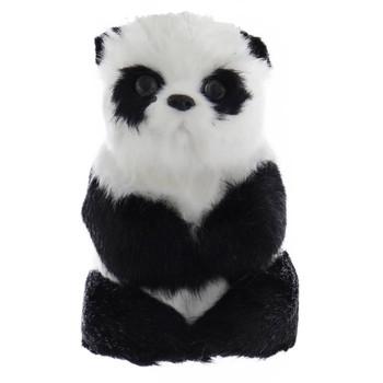 Furry Panda Ornament