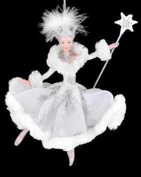 """Snow Queen Ballet Ballerina Ornament, 6 5/8"""", KAC9256"""
