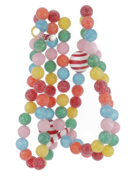 Frosted Sour Fruit Candy Balls Garland