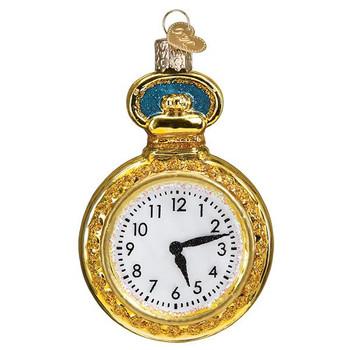 Pocket Watch Glass Ornament