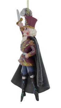 Beloved Nutcracker Ballet Prince Ornament left side