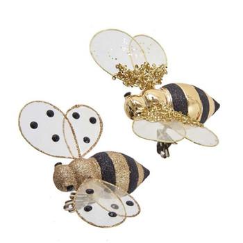 Clip On Honey Bee Ornament