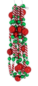 Sweet Christmas Red and Green Garland