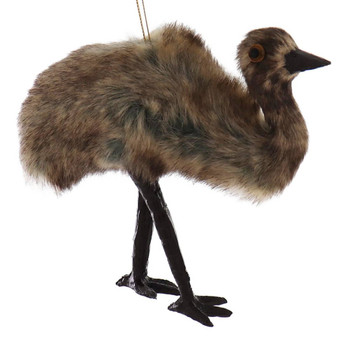 Furry Australia Wildlife Emu Ornament