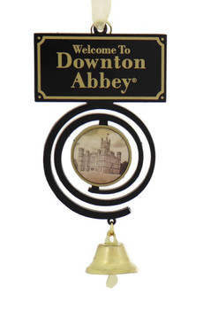 Downtown Abbey Pull Bell Ornament