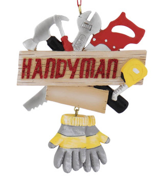 Handyman Tools Ornament