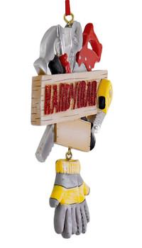 Handyman Tools Ornament side