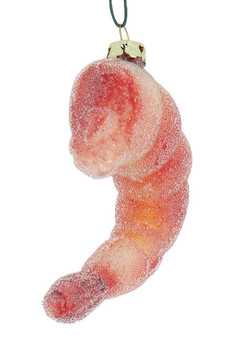 Colossal Cocktail Shrimp Glass Ornament front