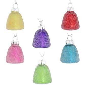 Sugary Gumdrop Glass Ornament