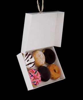 Box of Donuts Ornament front side