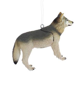 Gray Wolf Ornament