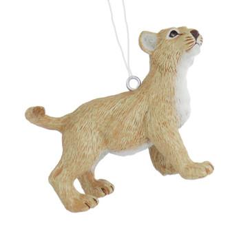 Small Lion Cub Ornament