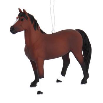 Male Morgan Horse Ornament