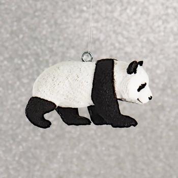 Small Panda Cub Ornament right side