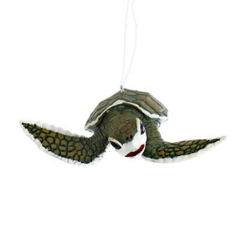 Baby Sea Turtle Ornament front