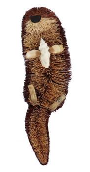 Buri Bristle Bendable Sea Otter Figurine front