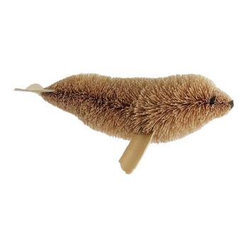 Buri Bristle Large Bendable Seal Ornament or Figurine