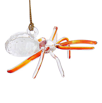 Spider Mouth-Blown Egyptian Glass Ornament