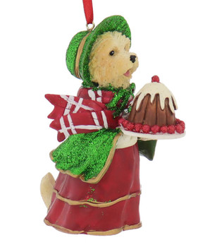 Early American Female Cairn Terrier Ornament