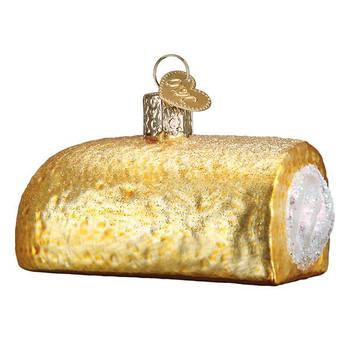 Hostess Twinkie Glass Ornament Ornament