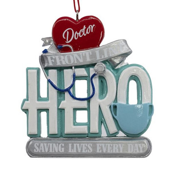 Front Line Hero Doctor Ornament