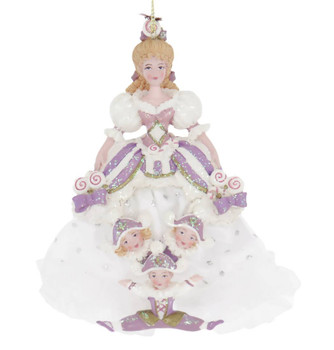 Nutcracker and Four Reals Mother Ginger Ornament