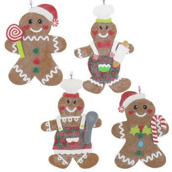 Claydough Glazed Cookie Ornament
