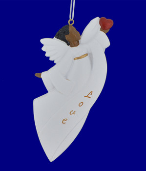Love Inspiration African American Angel Ornament