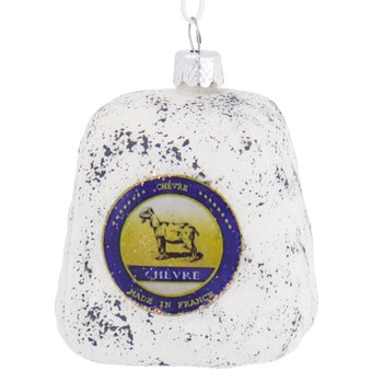 Goat Cheese Glass Ornament