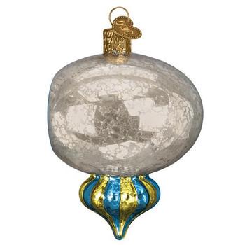 Shiny Mercury Reflection Glass Ornament side