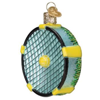 Roundnet Glass Ornament