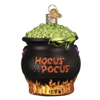 Cauldron Glass Ornament