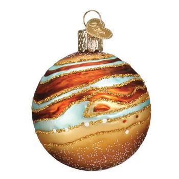 Jupiter Glass Ornament