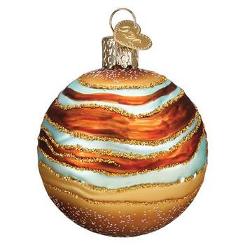 Jupiter Glass Ornament side