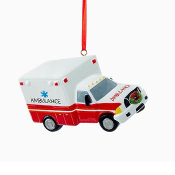 Personalizable Ambulance Ornament