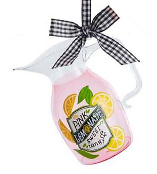 Pitcher of Pink Lemonade Pitcher Ornament