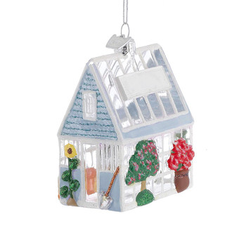 Clear Greenhouse Glass Ornament
