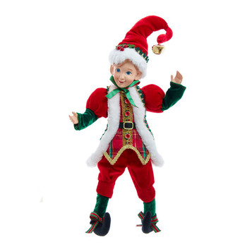 Kringle Klaus Elf Traditional Ornament - Shelf Decor