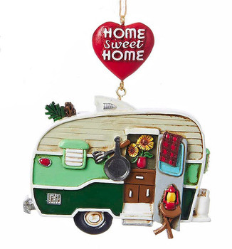 Home Sweet Home Camper Trailer Sign Ornament