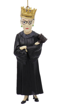 Notorious Ruth Bader Ginsburg - RBG Ornament Front