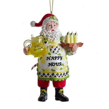 Lemonade Santa Ornament