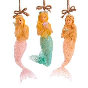 Transparent Mermaid Ornament