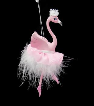 Flamingo Ballerina Ornament Right Side